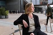 portretten van vertrekkende Nederlandse Europarlementariërs: Marietje Schaake (D66).
