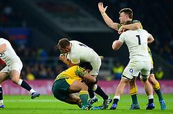 Ben Moon of England - Mandatory by-line: Dougie Allward/JMP - 24/11/2018 - RUGBY - Twickenham Stadium - London, England - England v Australia - Quilter Internationals