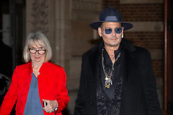EXCLUSIVE: Pogues singer, Shane McGowan gets married to Victoria Mary Clarke at Copenhagen City Hall. Johnny Depp was one of the guest at the wedding in Denmark. 26 Nov 2018 Pictured: Pogues singer Shane McGowan gets marries to Victoria Mary Clarke at Johnny Depp. Photo credit: Aller/MEGA TheMegaAgency.com +1 888 505 6342