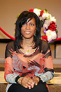 Ilyassah Shabazz(daughter of Dr. Betty Shabazz and Malcom X) at The 84th Birthday Celebration for Malcolm X and the Memorializing and Marking, for the First Time, the Location in Audubon Ballroom Where He Was Martyred in 1965.