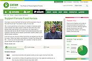 2015 03 30 Tearsheet Oxfam Australia Support female food heroes Indonesia