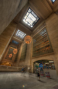 Grand Central Terminal. Tim Goetz is the subject standing in the corner, lower frame.