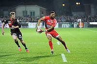 Delon ARMITAGE - 14.03.2015 - Lyon OU / Toulon -  20eme journee de Top 14<br /> Photo : Jean Paul Thomas  / Icon Sport<br /> <br />   *** Local Caption ***