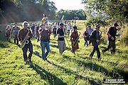 The Hungry March Band at Rokeby Farms, Barrytown, NY 9/24/16