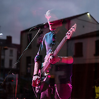 Press to MECO at Mello Mello as part of Sound City in Liverpool, 3rd May, 2014.