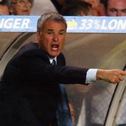 Chelsea Manager Claudio Ranieri urges his team forward