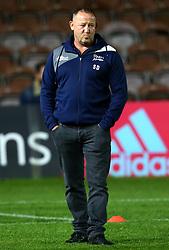Sale Sharks' director of rugby Steve Diamond - Mandatory by-line: Robbie Stephenson/JMP - 06/10/2017 - RUGBY - Twickenham Stoop - London, England - Harlequins v Sale Sharks - Aviva Premiership