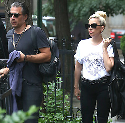 Lady Gaga and Christian Carino out and about in New York. 31 May 2018 Pictured: Lady Gaga, Christian Carino. Photo credit: TPG/MEGA TheMegaAgency.com +1 888 505 6342