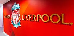 A general view inside Anfield, home to Liverpool - Mandatory by-line: Ryan Crockett/JMP - 02/10/2020 - FOOTBALL - Anfield - Liverpool, England - Anfield General Views - GV's
