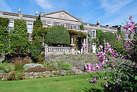 National Trust, property, Mount Stewart House front view from the gardens, Co Down, N Ireland, UK, August 2011. 201108200016.  Copyright Image from Victor Patterson, 54 Dorchester Park, Belfast, United Kingdom, UK...For my Terms and Conditions of Use go to http://www.victorpatterson.com/Victor_Patterson/Terms_%26_Conditions.html