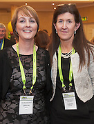 20/11/2014  repro free  Caroline Owens The Healing Grove and Clodagh Swanson, Clodagh Swanson Business Growth Specialist at the Galway Bay Hotel for the two day conference Meet West attracting over 400 business people from around Ireland for the largest networking event in the Country . Photo:Andrew Downes