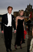 Prince Valerio Massimo and Miss Antonia Headley-Dent, Ball at Blenheim Palace in aid of the Red Cross, Woodstock, 26 June 2004. SUPPLIED FOR ONE-TIME USE ONLY-DO NOT ARCHIVE. © Copyright Photograph by Dafydd Jones 66 Stockwell Park Rd. London SW9 0DA Tel 020 7733 0108 www.dafjones.com