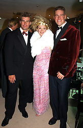 Left to right, Olympic sailor IAIN PERCY, SHIRLEY ROBERTSON Britain's double Olympic gold-medallist and Olympic sailor STEVE MITCHELL at a fashion show of the new fashion label Chester Bonham held at the Aston Martin Showroom, Park Lane, London on 15th November 2004.<br /><br />NON EXCLUSIVE - WORLD RIGHTS
