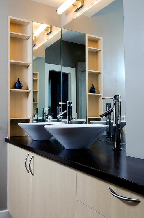 Private residence bathroom.