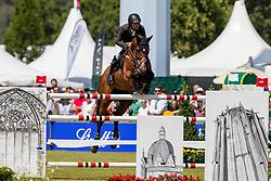 BLUMAN Daniel (ISR), Ladriano Z<br /> Aachen - CHIO 2018<br /> Rolex Grand Prix 1. Umlauf<br /> Der Grosse Preis von Aachen<br /> 22. Juli 2018<br /> © www.sportfotos-lafrentz.de/Stefan Lafrentz