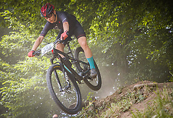 Brezar Vid of Calcit Bike Team during the race of XCO National Championship of Slovenia 2021 on 27.06.2021 in Kamnik, Slovenia. Photo by Urban Meglič / Sportida