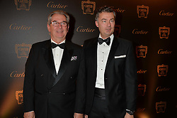 Left to right, guest and LAURENT FENIOUat the 26th Cartier Racing Awards held at The Dorchester, Park Lane, London on 8th November 2016.
