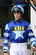 Jockey Ben Curtis during the October Finale Meeting at York Racecourse, York, United Kingdom on 11 October 2019.