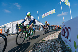 Gracie Elvin and Trixi Worrack make up the rest of the breakaway four - Ronde van Drenthe 2016, a 138km road race starting and finishing in Hoogeveen, on March 12, 2016 in Drenthe, Netherlands.