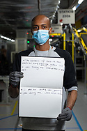 Worked at Amazon for 1.5 months. He is from Eritrea.