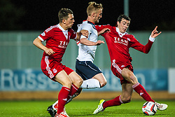 Falkirk's Craig Sibbald. Falkirk 0 v 5 Aberdeen, the third round of the Scottish League Cup.<br /> ©Michael Schofield.