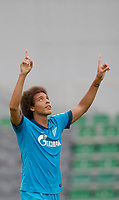 Fotball<br /> 22.07.2014<br /> Foto: Gepa/Digitalsport<br /> NORWAY ONLY<br /> <br /> Derby County FC vs FC Zenit St. Petersburg, IFCS test match. <br /> <br /> Image shows the rejoicing of Axel Witsel (Zenit).