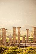 Ruins of Baelo Claudia in Spain