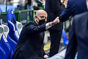 Massimiliano Menetti<br /> Banco di Sardegna Dinamo Sassari - DeLonghi Treviso<br /> Legabasket LBA Serie A UnipolSai 2020-2021<br /> Sassari, 13/12/2020<br /> Foto L.Canu / Ciamillo-Castoria