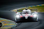 June 10-16, 2019: 24 hours of Le Mans. 7 TOYOTA GAZOO RACING, TOYOTA TS050 - HYBRID,  Mike CONWAY, Kamui KOBAYASHI, Jose Maria LOPEZ