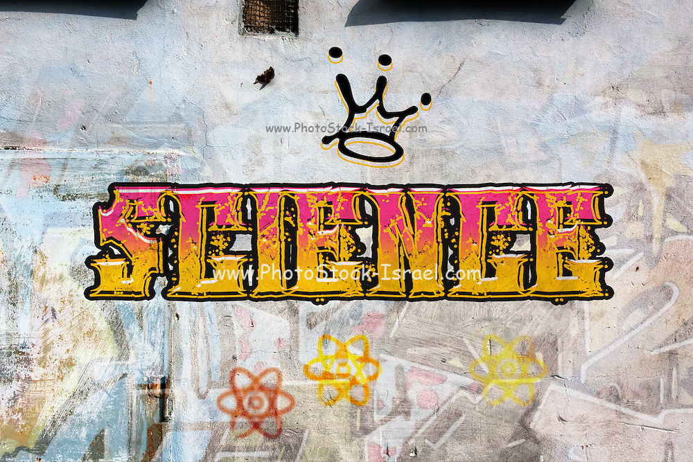 Science is king Graffiti on a wall