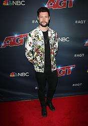Americas Got Talent. 18 Sep 2019 Pictured: Calum Scott. Photo credit: MEGA TheMegaAgency.com +1 888 505 6342