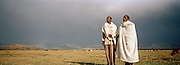 Portrait of cattle herders at Jimma, Ethiopia.
