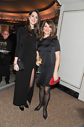 Left to right, CHLOE HERBERT and her mother CHICA HERBERT wife of Harry Herbert at the 22nd Cartier Racing Awards held at The Dorchester, Park Lane, London on 13th November 2012.