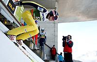 Hopp<br /> FIS World Cup<br /> Hoppuka<br /> 03.01.12<br /> Innsbruck Østerrike<br /> Foto: Gepa/Digitalsport<br /> NORWAY ONLY<br /> <br /> FIS Weltcup der Herren, Vierschanzen-Tournee, Training und Qualifikation. <br /> <br /> Bild zeigt Vegard Haukø Sklett (NOR)