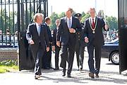 Z.K.H. Willem Alexander  de Prins van Oranje verricht de opening van het Geldmuseum te Utrecht . / Prince Willem Alexander opens the new money museum in Utrecht.<br /> <br /> De aankomt / arrival