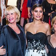 NLD/Amsterdam/20170326 - Pr. Margarita en Sheila de Vries presenteren nieuwe sieradencollectie, Anouk van Nes, Sheila de Vries, Yasmine Verheijen en Margarita