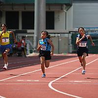 D Girls 100m