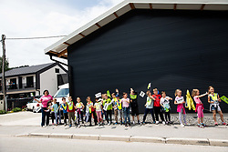 Supporters during 2nd Stage of 27th Tour of Slovenia 2021 cycling race between Zalec and Celje (147 km), on June 10, 2021 in Slovenia. Photo by Vid Ponikvar / Sportida