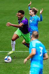 Zak Vyner of Bristol City in action - Rogan/JMP - 21/08/2020 - Ashton Gate Stadium - Bristol, England - Bristol City v Cheltenham Town - Pre Season Friendly.