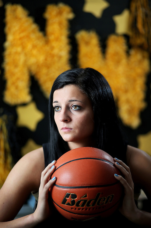 Grand Island Northwest High School junior McKenzie Brown is the Independent's 2012-13 All-Heartland Girls Basketball Captain. Brown helped lead the Lady Vikings to victory in the Class B State Title and also surpassed 1,000 career points earlier in the season. (Independent/Matt Dixon)