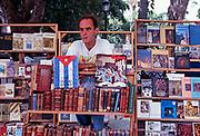 Bookseller, Havana 1996