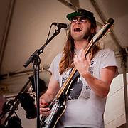 Joey Nix (Shitbox Jimmy) at 2013 WRUW Studio-A-Rama. Photo by Cleveland music photographer Mara Robinson
