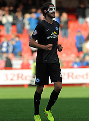 Peterborough United's Michael Smith - photo mandatory by-line David Purday JMP- Tel: Mobile 07966 386802 - 11/10/14 - Crawley Town v Peterbourgh United - SPORT - FOOTBALL - Sky Bet Leauge 1  - London - Checkatrade.com Stadium
