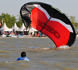 07.05.2011, Strandbad Podersdorf am See, Burgenland, AUT, Surfworldcup, im Bild Kite Feature // during surfworldcup at podersdorf, AUT, burgendland, lido podersdorf, 05-07-2011,  EXPA Pictures © 2011, PhotoCredit: EXPA/ M. Gruber