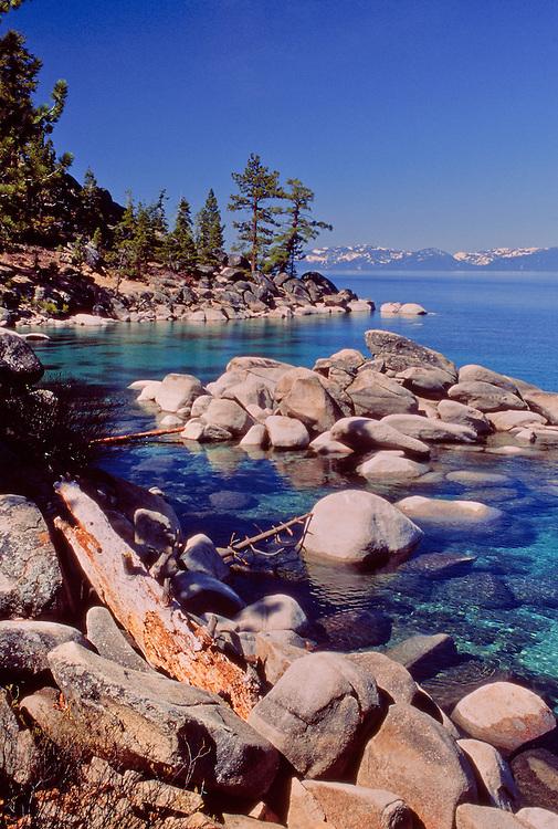 Clear Water Lake Tahoe East Shore Lake Tahoe