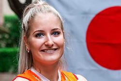 13-10-2018 JPN: World Championship Volleyball Women day 14, Nagoya<br /> Portraits Dutch Volleybal Team - Marrit Jasper #18 of Netherlands