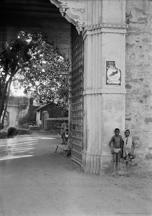 Amba Pol Gateway, Udaipur, India, 1929
