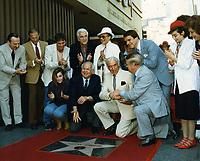 1985 Lorne Greene's Walk of Fame ceremony