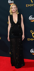 September 18, 2016 - Los Angeles, California, United States - Kirsten Dunst arrives at the 68th Annual Emmy Awards at the Microsoft Theater in Los Angeles, California on Sunday, September 18, 2016. (Credit Image: © Michael Owen Baker/Los Angeles Daily News via ZUMA Wire)