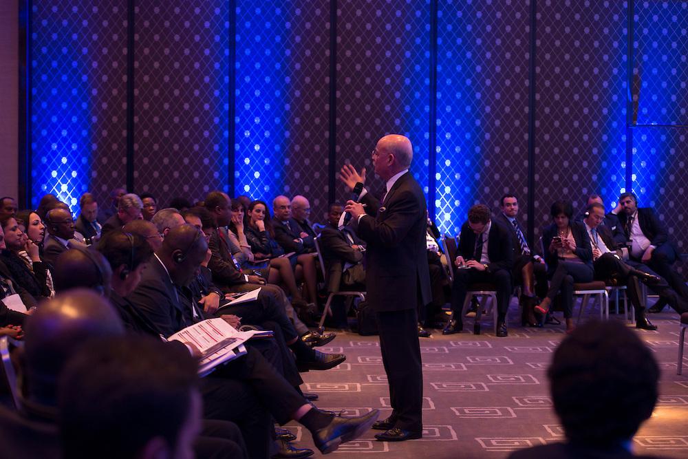 """Jeremy Rifkin, intervention sur L'Afrique vers la 3ème révolution indsutrielle et la """"Société du coût marginal zéro"""", le 16 mars 2015, Africa Ceo Forum 2015"""